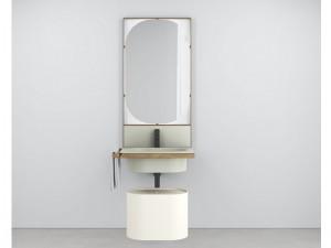 Cielo Elle Ovale mobile lavabo