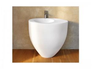 Cielo Le Giare lavabo freestanding installazione a parete LGFREE