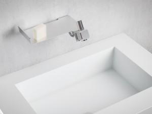 Dueacca Kit 01 Indoor rubinetto lavabo monocomando a parete 4120018101