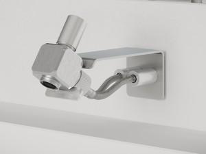 Dueacca Kit 02 Indoor rubinetto lavabo monocomando a parete 4120028101