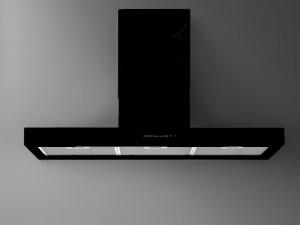 Falmec Design cappa a parete o a isola PLANE BLACK