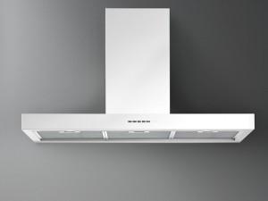 Falmec Design cappa a parete o a isola PLANE WHITE