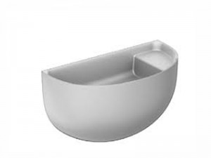 Falper Bowllino lavabo sospeso WL1