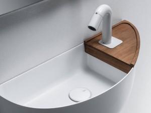 Falper Bowllino mensola in legno per lavabo WL4
