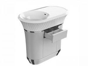Falper George lavabo freestanding con cassetto