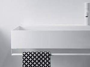 Falper Quattro.Zero portasalviette per lavabo sospeso