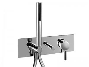 Fantini Nostromo rubinetto doccia con deviatore 2 vie e doccetta E884B