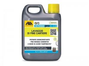 Fila Deterdekpro detergente disincrostante acido DETERDEKPRO