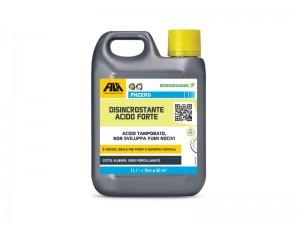 Fila Phzero detergente disincrostante acido forte PHZERO