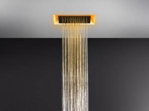 Gessi Afilo soffione doccia a soffitto con cromoterapia 57301