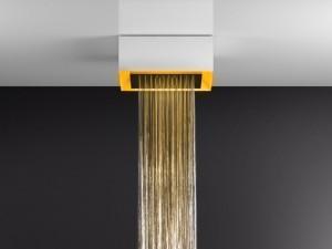Gessi Afilo soffione doccia a soffitto con cromoterapia 57303