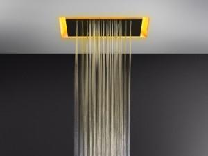Gessi Afilo soffione doccia a soffitto con cromoterapia 57501