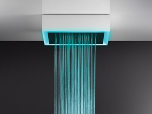 Gessi Afilo soffione doccia a soffitto multifunzione 57511