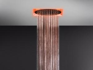 Gessi Afilo soffione doccia a soffitto con cromoterapia 57601