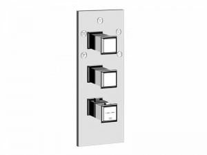 Gessi Eleganza Wellness miscelatore termostatico doccia con deviatore 5 vie 46212