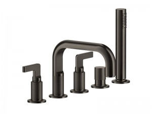 Gessi Inciso rubinetto vasca da bagno 5 fori 58040
