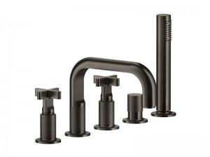 Gessi Inciso rubinetto vasca da bagno 5 fori 58140