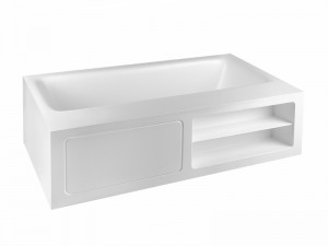 Gessi Rettangolo vasca da bagno freestanding 37596