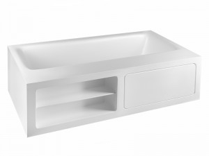 Gessi Rettangolo vasca da bagno freestanding 37597