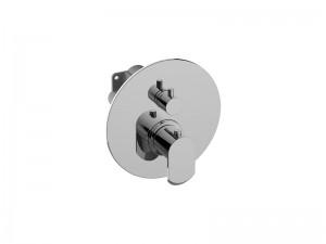 Graff Phase rubinetto doccia termostatico con rubinetto d'arresto E18035LM45E