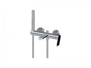 Graff Phase rubinetto vasca a parete con doccetta EX6676LM45W