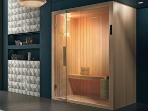 Hafro Kyra sauna angolare SKY10036-1S006