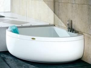 Jacuzzi Aquasoul Corner 140 vasca da bagno idromassaggio angolare AQU40010741