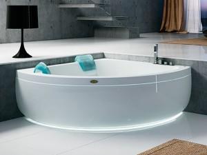Jacuzzi Aquasoul Corner 155 vasca da bagno idromassaggio angolare AQU60010741