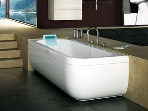 Jacuzzi Aquasoul Lounge vasca da bagno idromassaggio angolare AQU20011744SX