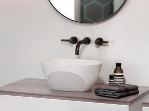 Jacuzzi Contento lavabo da appoggio 9403267A