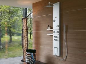 Jacuzzi Ego colonna doccia multifunzione a parete 944905380