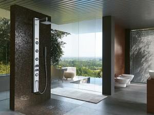 Jacuzzi Es colonna doccia multifunzione a parete 944905480