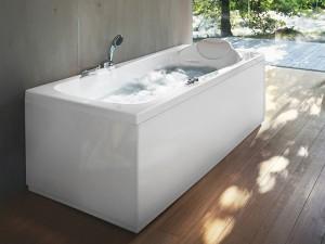 Jacuzzi Hexis vasca da bagno idromassaggio a parete 9443238DX