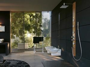 Jacuzzi Ios colonna doccia multifunzione a parete 94490566
