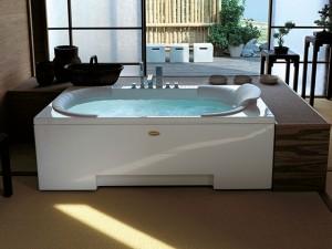 Jacuzzi J-Sha MI vasca da bagno idromassaggio angolare JSH10012111DX