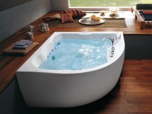 Jacuzzi Maxima vasca da bagno idromassaggio angolare 9443788A