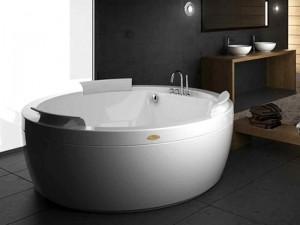Jacuzzi Nova Pure Air vasca da bagno idromassaggio freestanding o a incasso NOV10030400