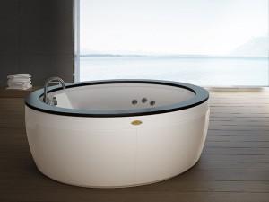 Jacuzzi Nova Wood vasca da bagno idromassaggio freestanding NOV20510700