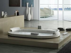 Jacuzzi Opalia Corian vasca da bagno idromassaggio a incasso 9443745