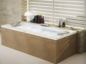 Jacuzzi Sharp Double vasca da bagno idromassaggio a parete SHA30010600