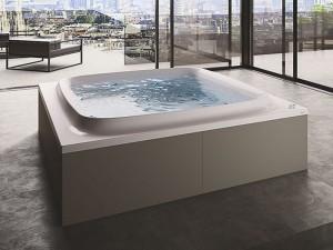 Jacuzzi Skyline 190 vasca da bagno idromassaggio freestanding SKY00170100
