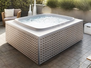 Jacuzzi Skylounge vasca da bagno idromassaggio freestanding outdoor SKL00023365