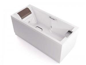 Jacuzzi Slim Pro vasca da bagno idromassaggio a parete THE40141513SX