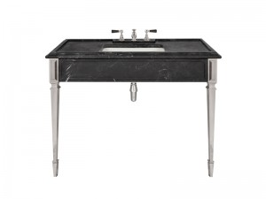Lefroy Brooks Mackintosh consolle in marmo Marquina Nero LB6343BK