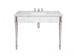 Lefroy Brooks Mackintosh consolle in marmo di Carrara LB6343WH