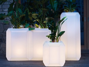 Myyour Gen vaso con led RGB 70X07GEM
