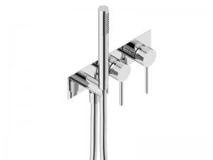 Neve Lino rubinetto doccia con doccetta LIN2543SC