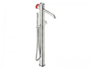 Neve Volante rubinetto vasca idroprogressivo a pavimento con doccetta VOX4940BZ