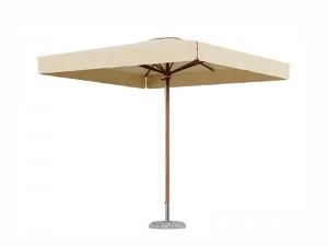 Ombrellificio Veneto Dolomiti Legno ombrellone 300x300cm DOLOMITI