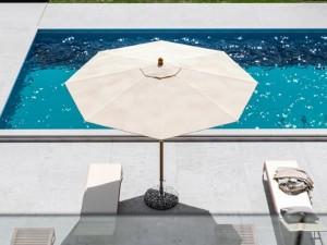 Ombrellificio Veneto Dolomiti Legno ombrellone diametro 300cm DOLOMITI